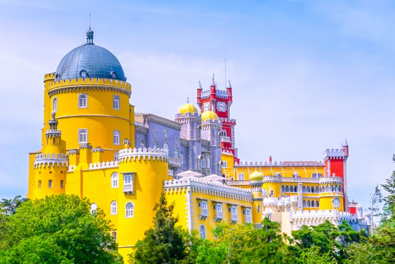 Palace of Pena Sintra PickYourDay 800x534 - 3 days in Lisbon: the main attractions
