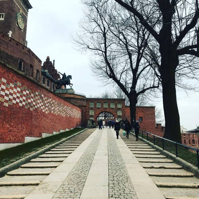 wawel castle - THE ULTIMATE GUIDE TO TRAVEL TO POLAND ON A BUDGET; PART 1 - KRAKOW
