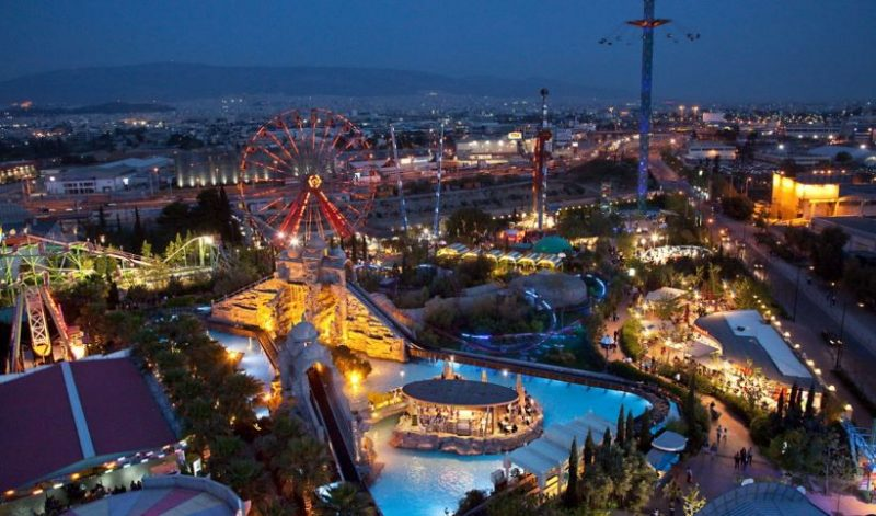 2 Allou fun park at night 800x471 - TOP THINGS TO DO IN ATHENS