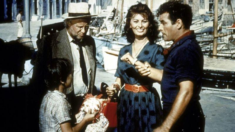 Sophia Loren on Hydra