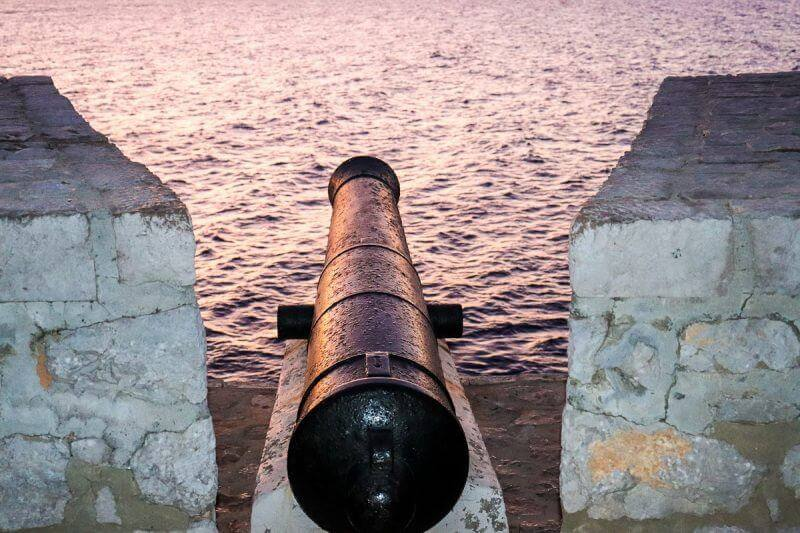 cannon - 15 TOP THINGS TO DO IN HYDRA ISLAND GREECE