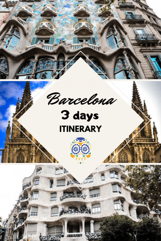 Barcelona 534x800 - 3 Days in Barcelona: The Best Barcelona Itinerary