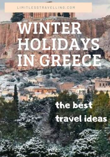 Cream Beach Photo Pinterest Graphic 534x800 2 - Winter Holidays in Greece: the best travel ideas