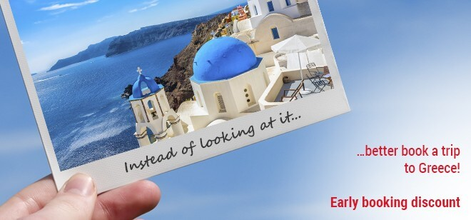 advantages of early booking your vacation in Greece