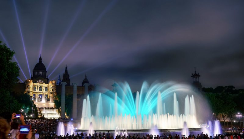 fountain 800x457 1 - 3 Days in Barcelona: The Best Barcelona Itinerary