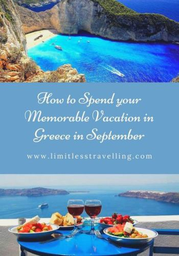 White Gold Accent Simple Minimalist Elegant Wedding Blog Pinterest Graphic 1 1 - How to Spend your Memorable Vacation in Greece in September