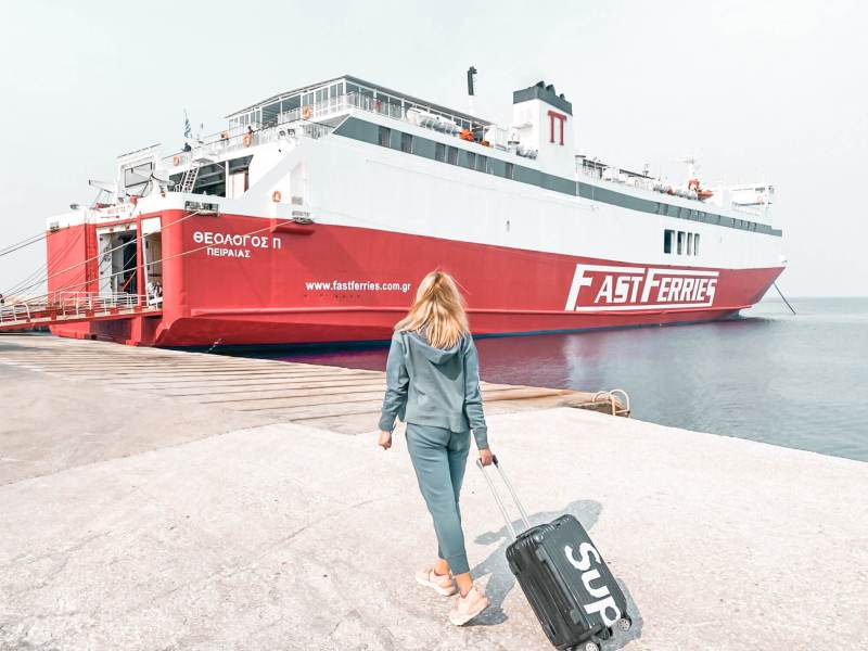 fast ferries 800x600 - 7 Top Reasons To Visit Andros Island In Greece