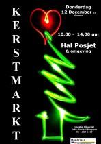 affiche kerstmarkt 2013