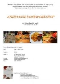 Afghaanse Kookworkshop