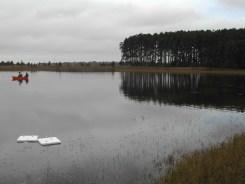 Lago Polegar, onde o estudo foi realizado