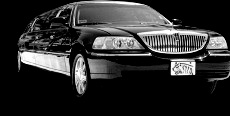 Picture of Black Lincoln Limousine