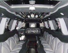 Image of escalade limo interior