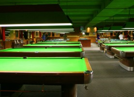Image of pool table in Manchester with a CT Limo
