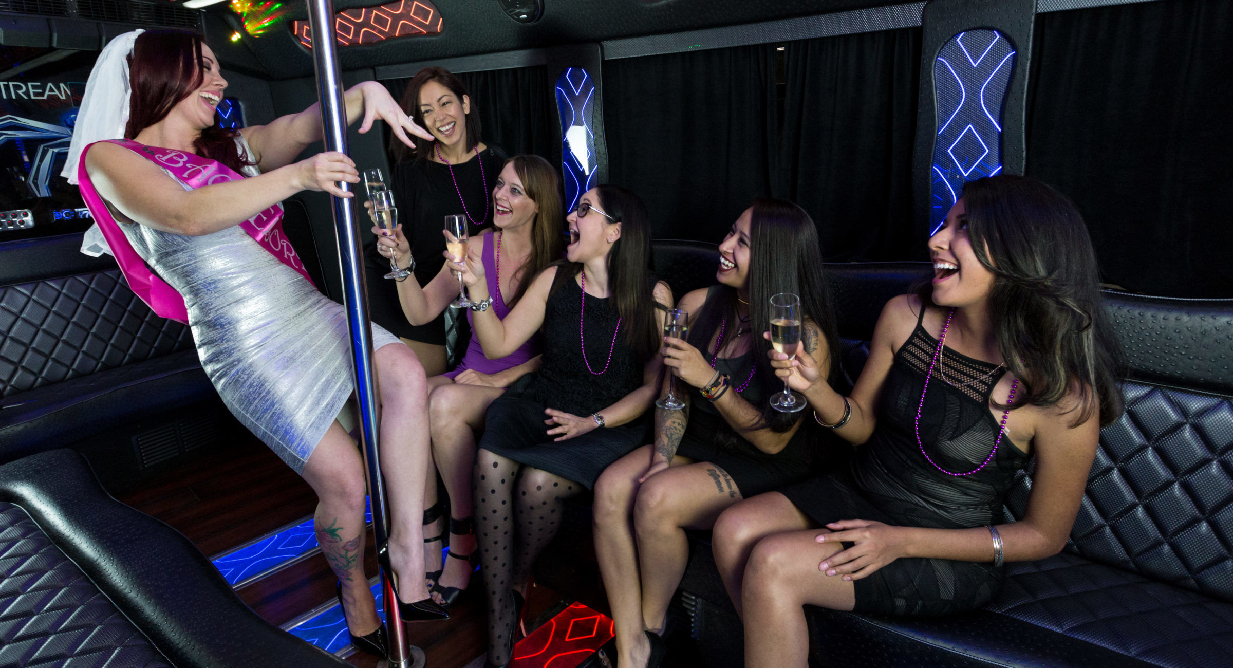 Bachelorette Party Party Bus Limo