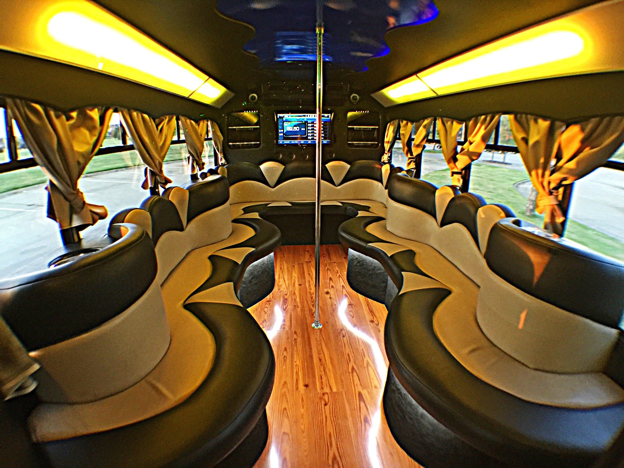 Bachelor Bachelorette Limo Party Bus DFW Dallas Fort Worth Rental Service