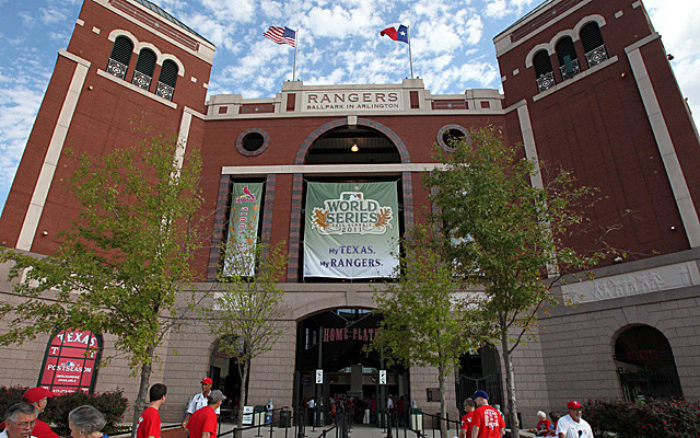sporting events limo dallas Texas Rangers