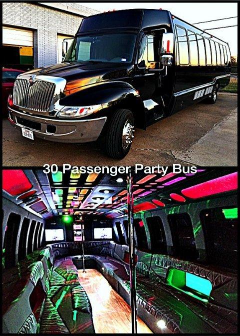 Party Bus Transportation Cowboys