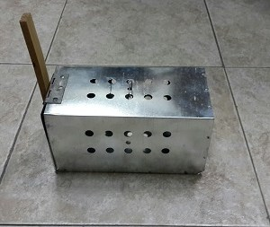 Aluminium Rodent Trap
