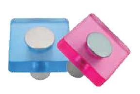 ST Fornitue 5050 Color Square Button 70831