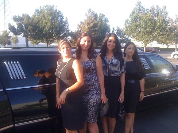 Limousine to the Orange County Fair & Event Center for the Adesa Car Auction June 22-24