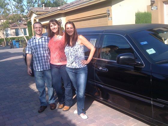Birthday Limousine Orange County, CA