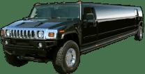 Black Orange County Hummer Limo