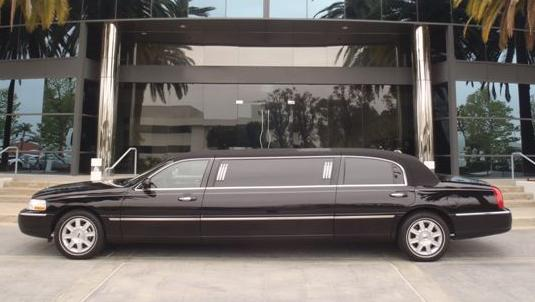 6 passenger limousine in Orange County, CA