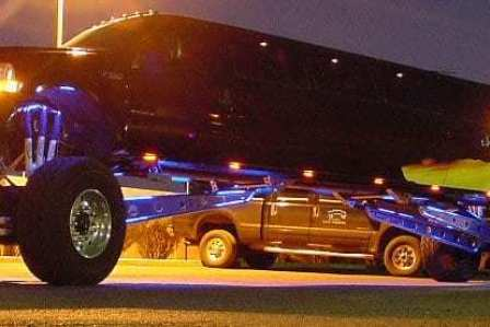Monster Truck Limo. Ladder included.