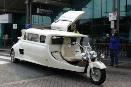 Executive Motorcycle Limousine