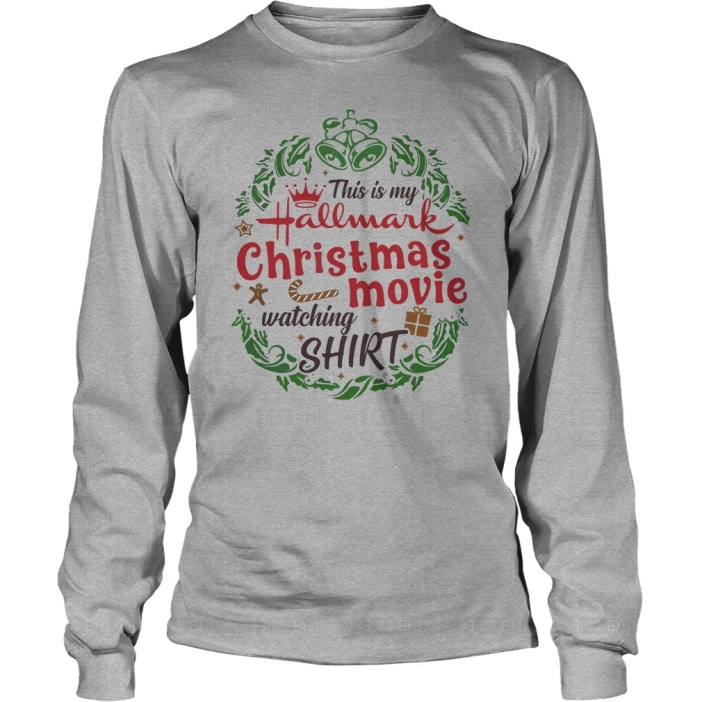 This is my Hallmark Christmas movie watching house shirt