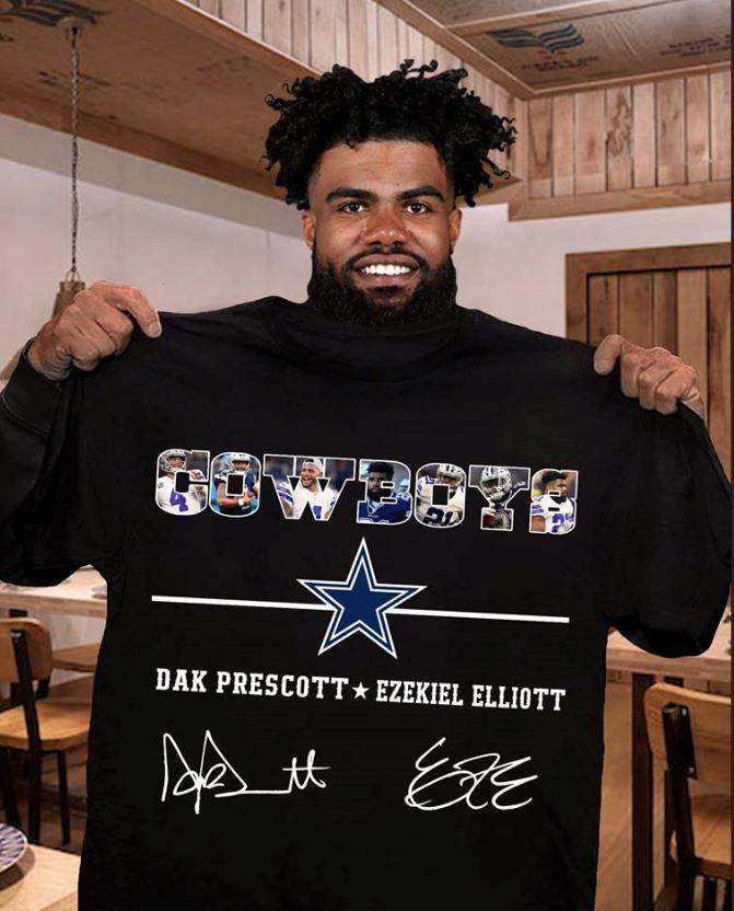 Cowboys Dak Prescott and Ezekiel Elliott shirt