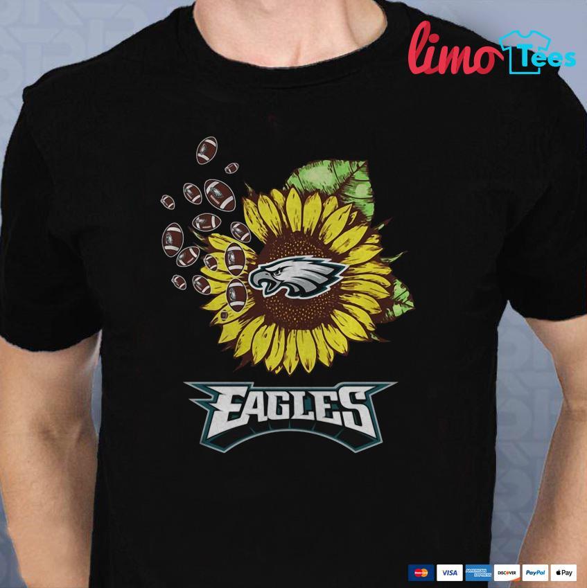 Philadelphia Eagles sunflower shirt