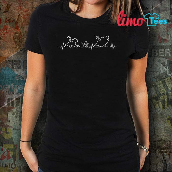 The Lion King heartbeat shirt