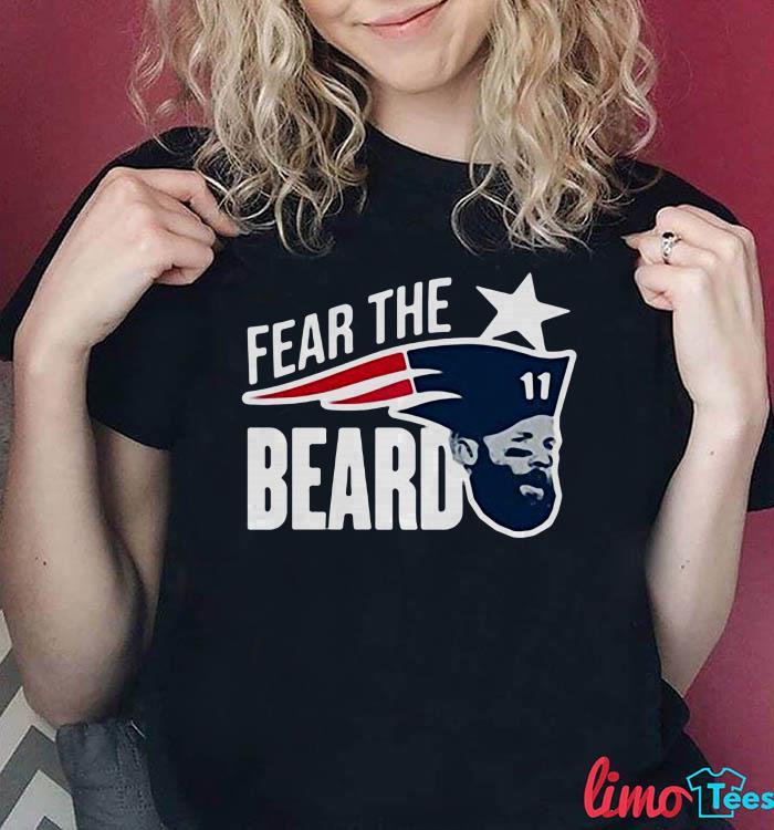 Fear the Beard Julian Edelman New England shirt