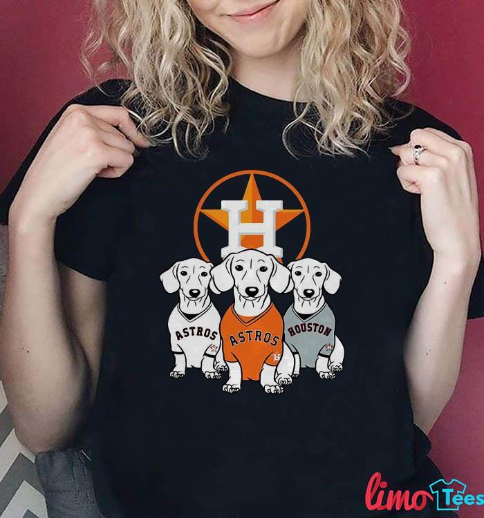 Houston Astros dachshund shirt