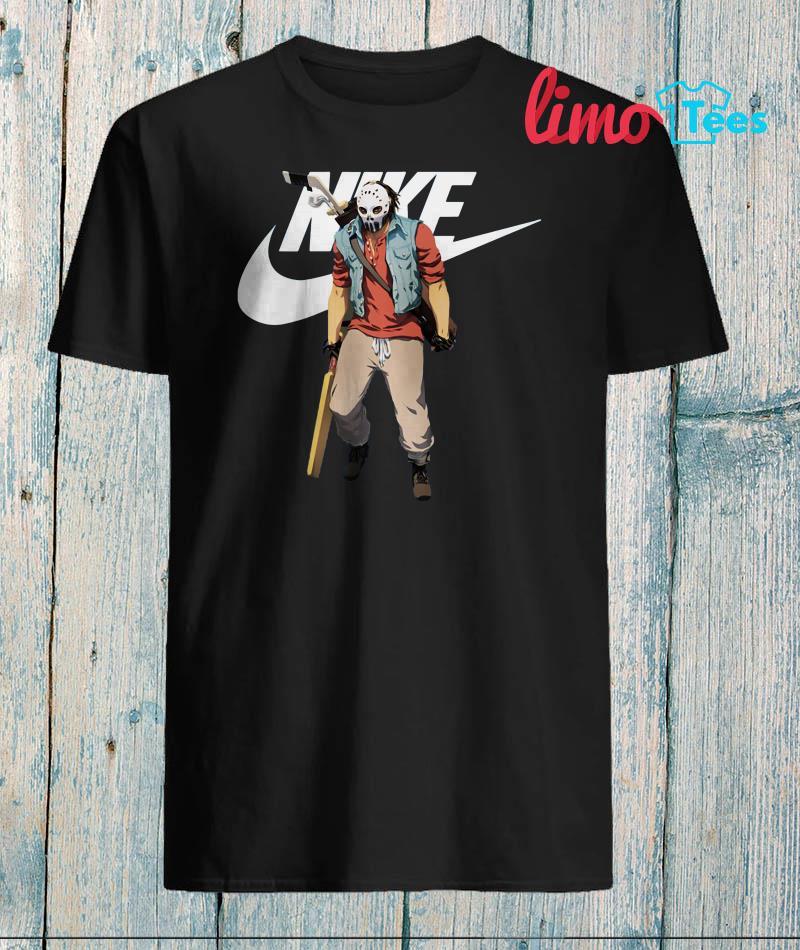 Friday the 13th Jason Voorhees hockey Nike shirt