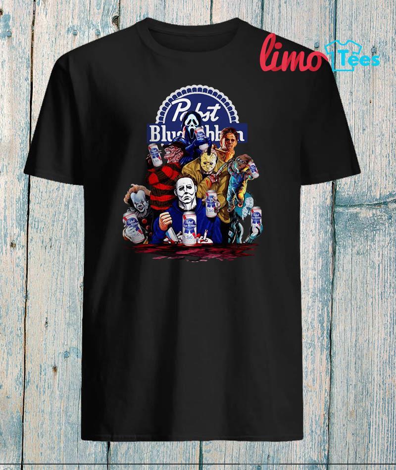 Pabst Blue Ribbon Zombie T-Shirt