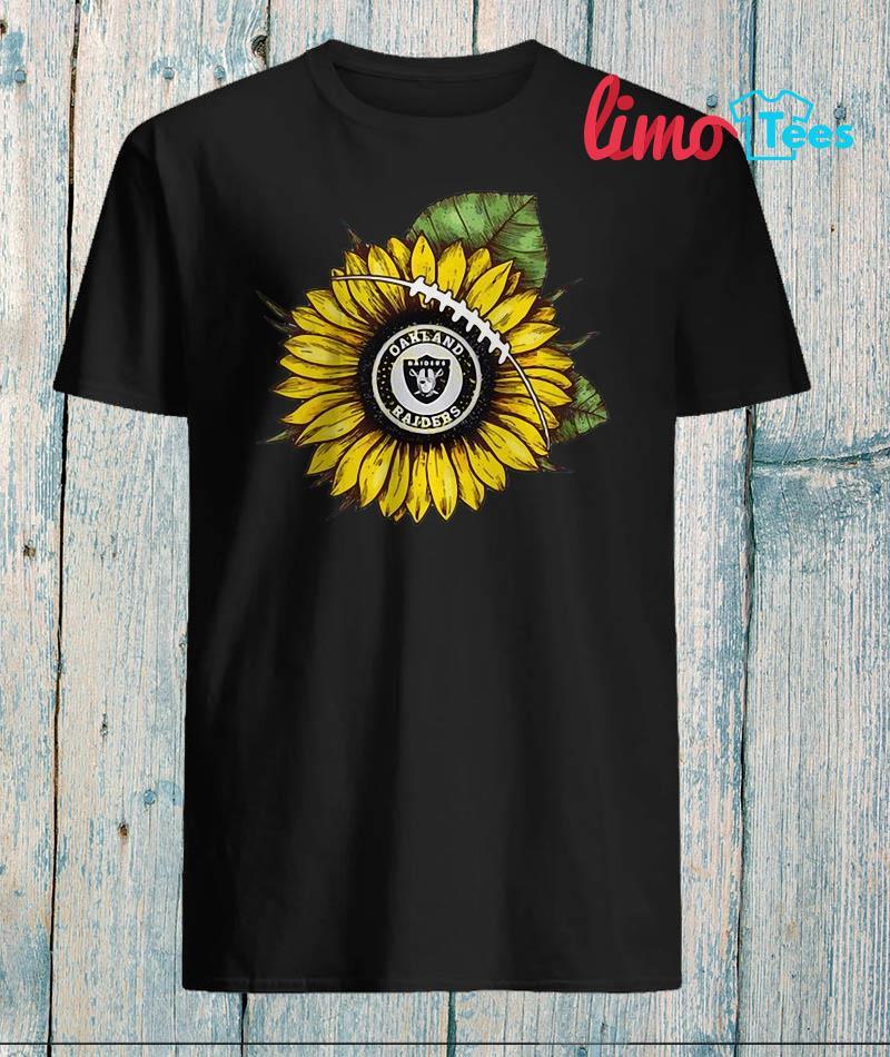 Sunflower Oakland Raiders shirt