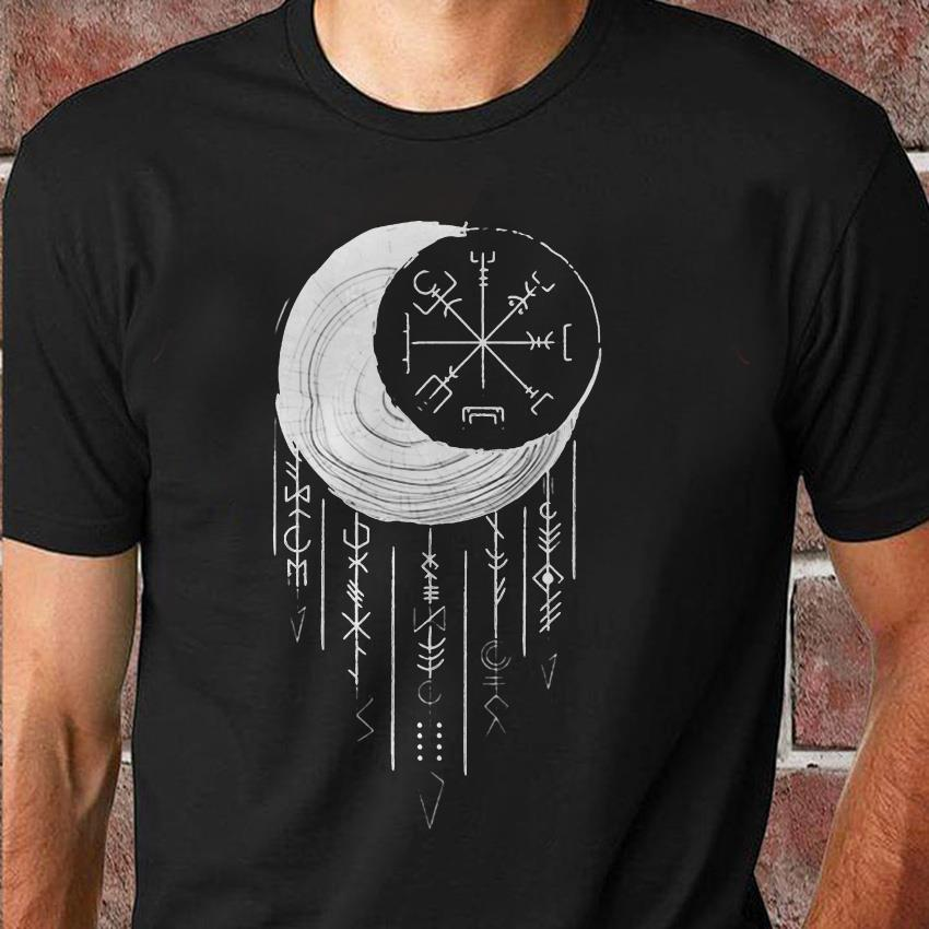 Moon Vigvisir Viking dreamcatcher shirt