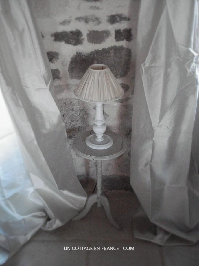 Couleurs rideaux rustiques - Un Cottage En France