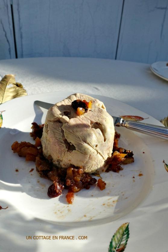 Foie gras aux épices de Richelieu Myriam Montagner 2