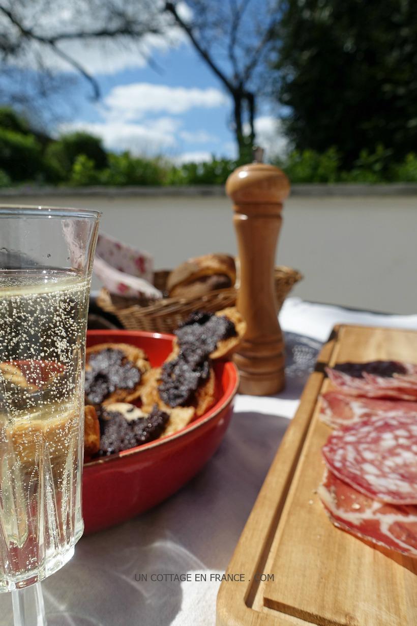 Anchoiade tartines aperitif