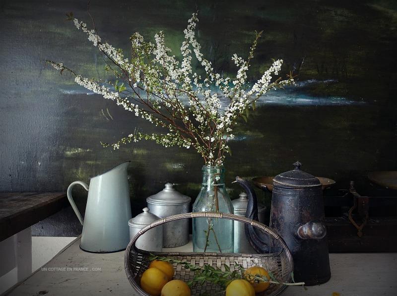 Nature morte dans la cuisine (Still life in the kitchen)