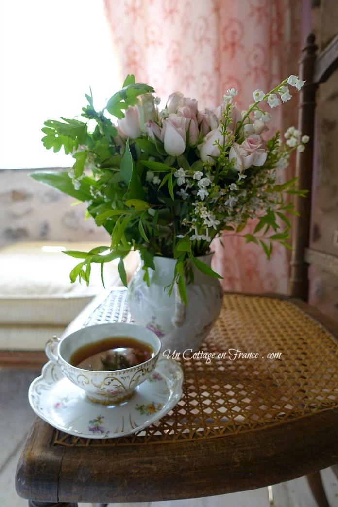 déco romantique cottage