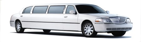7- Ace Town Car Limo (white)