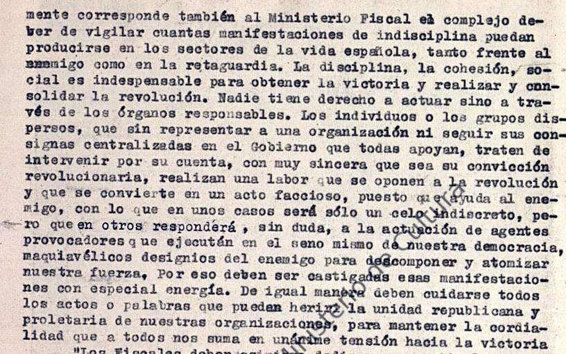 """<span class=""""entry-title-primary"""">Así se convirtió la República en un régimen de terror</span> <span class=""""entry-subtitle"""">Documentación sobre las principales fases de la Revolución de 1936 en el legajo 1552, expediente 14, de la Causa General</span>"""
