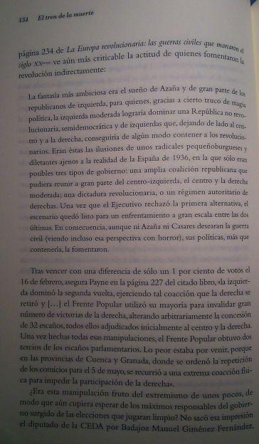 Página 134 de El Tren de la Muerte.