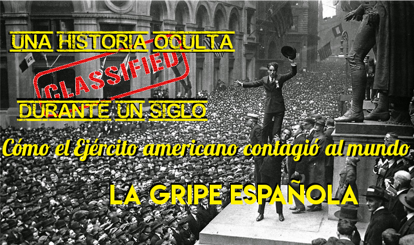"""<span class=""""entry-title-primary"""">Cómo el Ejército americano contagió al mundo la Gripe Española</span> <span class=""""entry-subtitle"""">Un libro de Santiago Mata muestra que la mayor catástrofe de la Historia, erróneamente llamada Gripe Española, comenzó en EE.UU. en 1917, y no en 1918.</span>"""