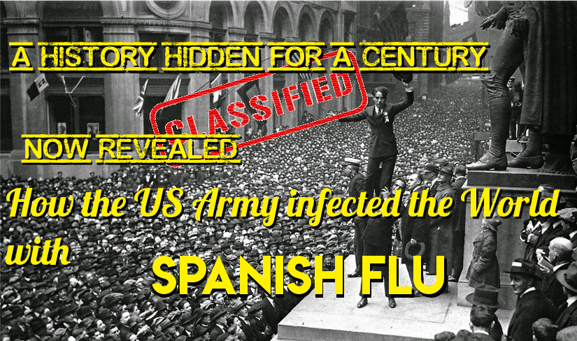 "<span class=""entry-title-primary"">How the US Army infected the World with Spanish Flu</span> <span class=""entry-subtitle"">The greatest catastrophe in history, mistakenly called Spanish Flu, began in the USA in 1917, not in 1918, says a new book by the historian Santiago Mata.</span>"