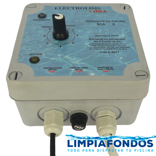 Ionizador En Linea Electrólisis 25 a 250 m3
